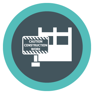Capital Construction Training Group Construction Safety Icon