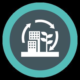 Capital Construction Training Group Environmental Icon