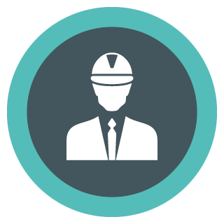 Capital Construction Training Group Management Icon
