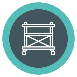 Capital Construction Training Group Scaffolding Icon